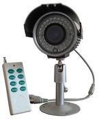 Всепогодная камера со встроенным DVR, датчиком движения и пультом ДУ. ZJ1001