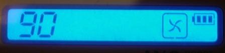 Дисплей QQ-02 с синей подсветкой