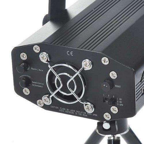Лазерный проектор со звуковой