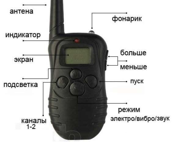 ошейник 998d инструкция